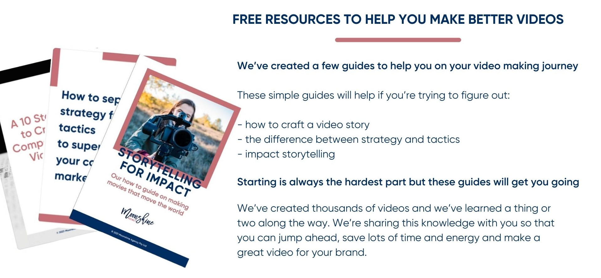 Moonshine Agency resources