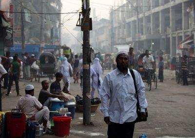 Dhaka street Bangladesh