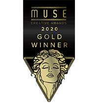 Moonshine Agency MUSE Awards 2020 Gold Award Mike Hill Moonshine