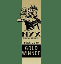 Moonshine Agency NYX Awards 2020 Gold Award Mike Hill Moonshine