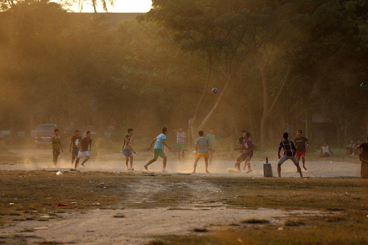 Football Yangon Myanmar