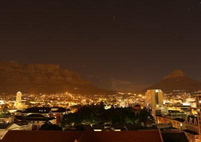 Table Mountain Cape Town night