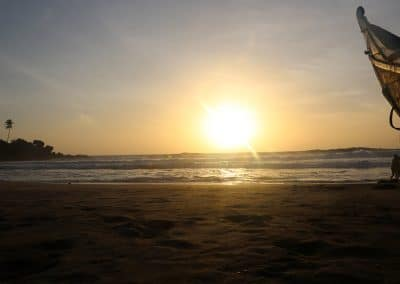 Kerala Kovalam Beach sunset
