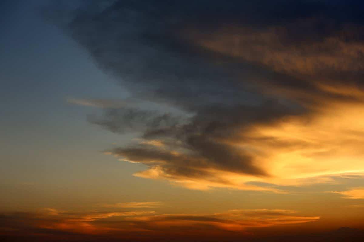 Sunset sky Darwin Australia